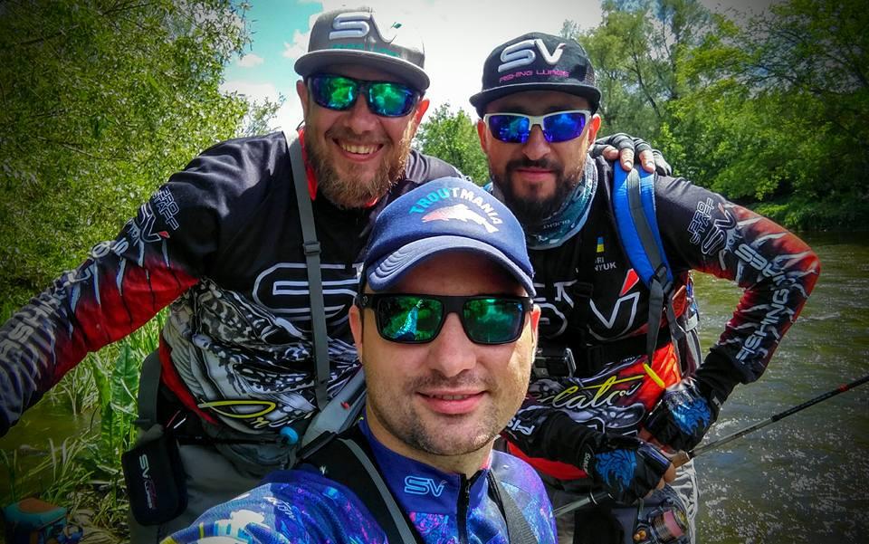 Команда SV Fishing Lures на голавлиной рыбалке