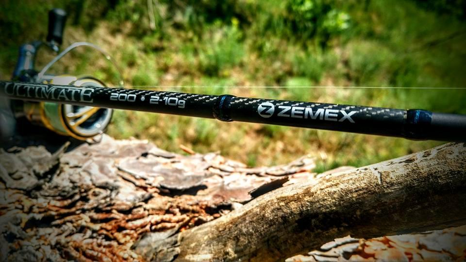 Спиннинг Zemex для ловли голавля